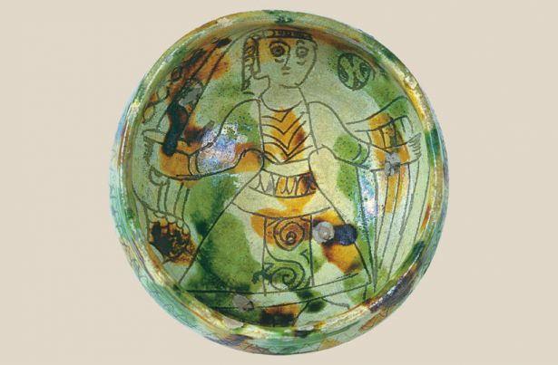 Glazed Ceramic Bowl 01250 ό ό